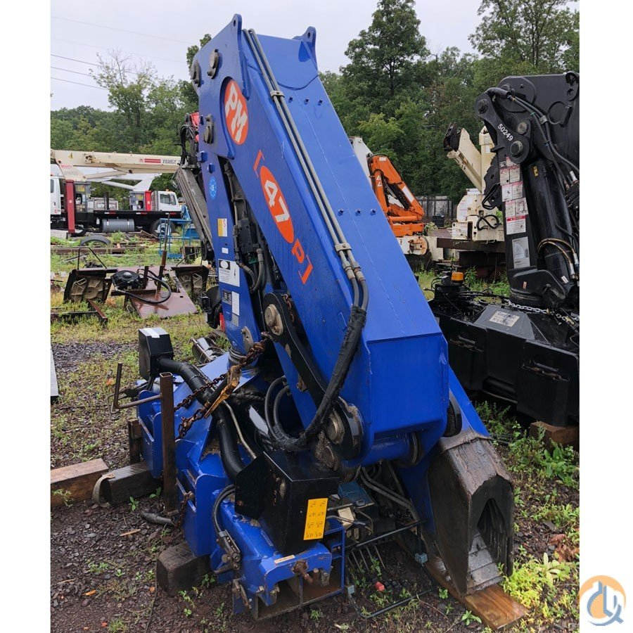 2006 PM 47025 23 TON UNMOUNTED KNUCKLEBOOM Crane for Sale in Hatfield Pennsylvania on CraneNetwork.com
