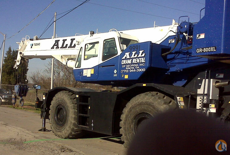 2008 Tadano TR800XL-1 For Sale Crane for Sale in Nitro West Virginia on CraneNetworkcom