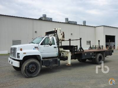2002 GMC C7500 Crane for Sale in North East Maryland on CraneNetworkcom