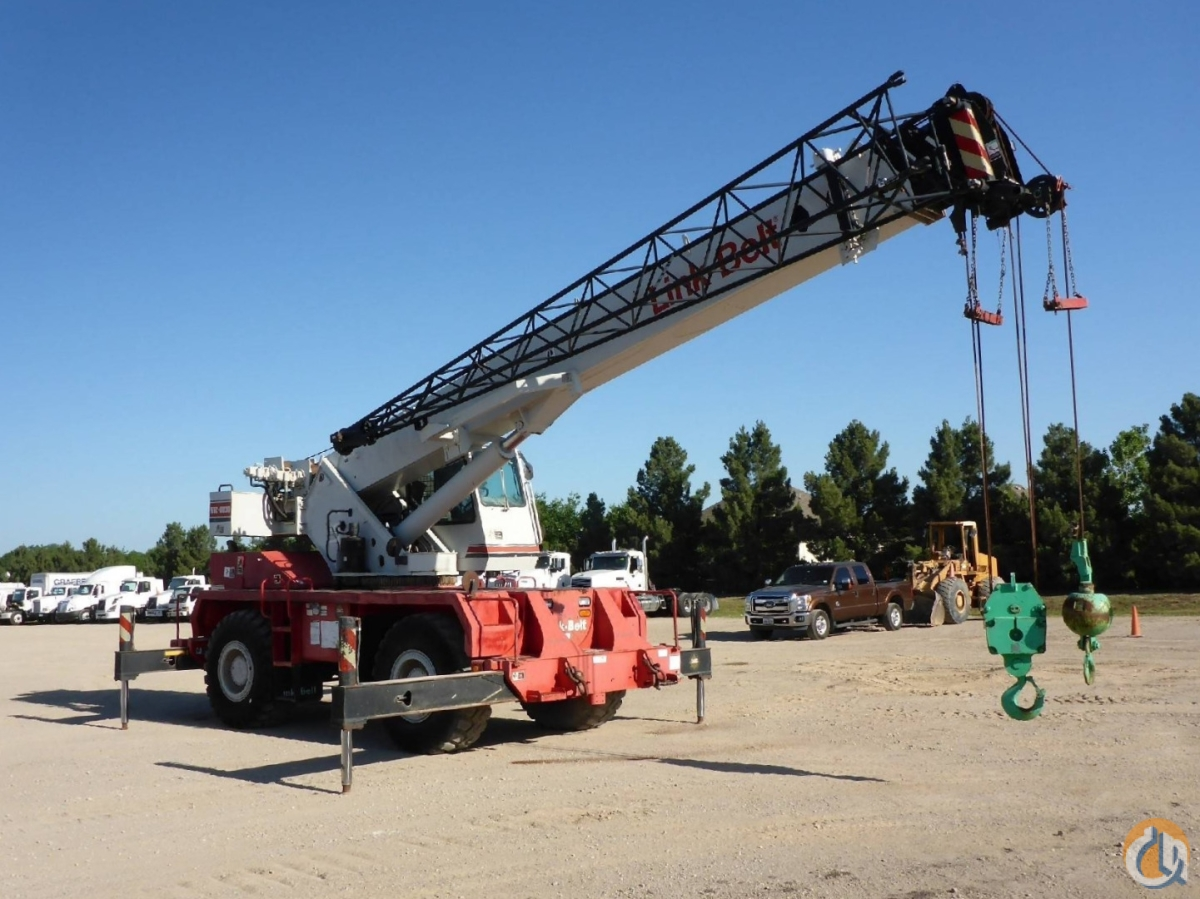 2001 LINK-BELT RTC-8030 Crane for Sale or Rent in Savannah Georgia on CraneNetworkcom