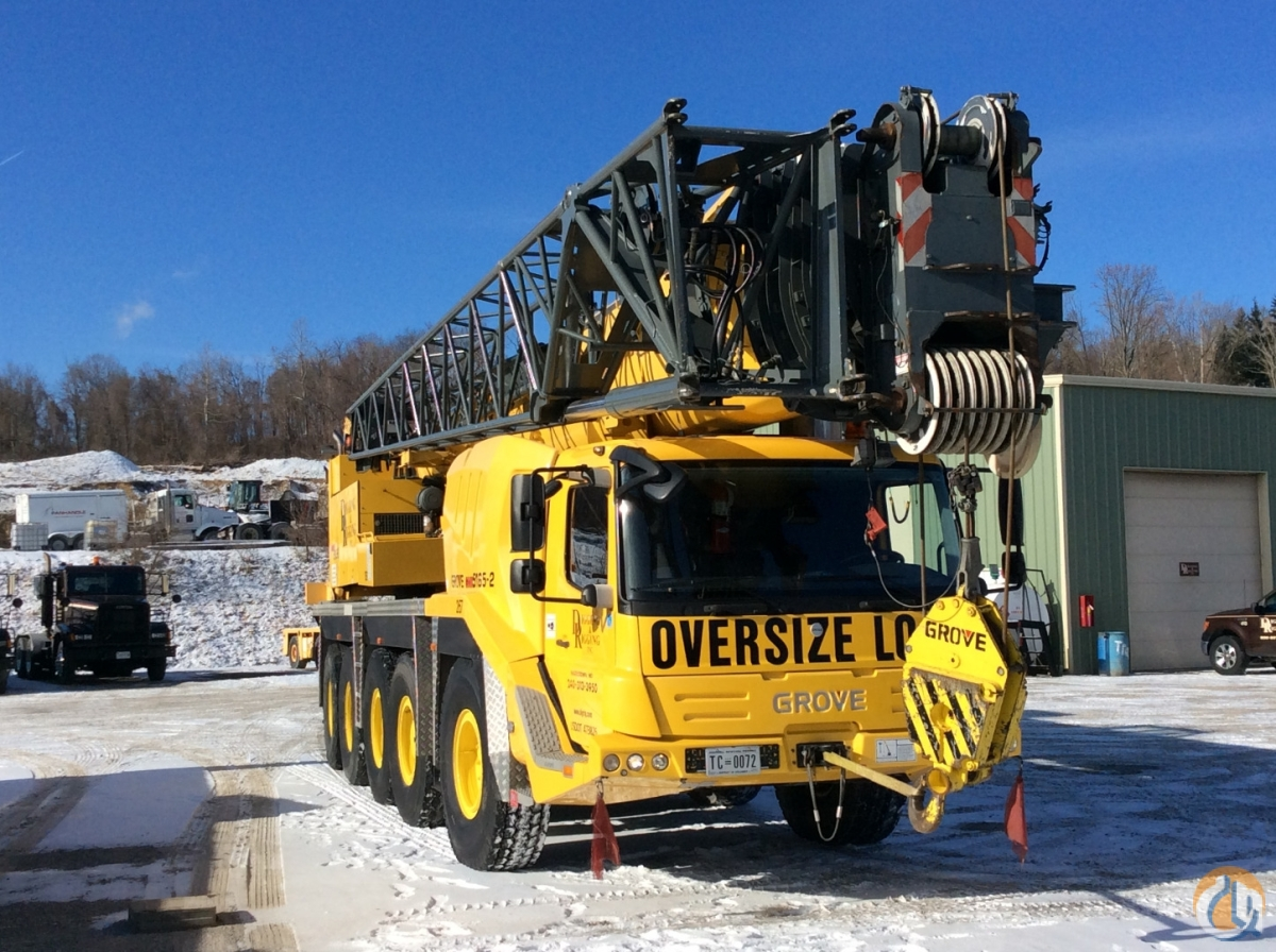 2009 Grove GMK 5165-2 Crane for Sale in Cleveland Ohio on CraneNetwork.com