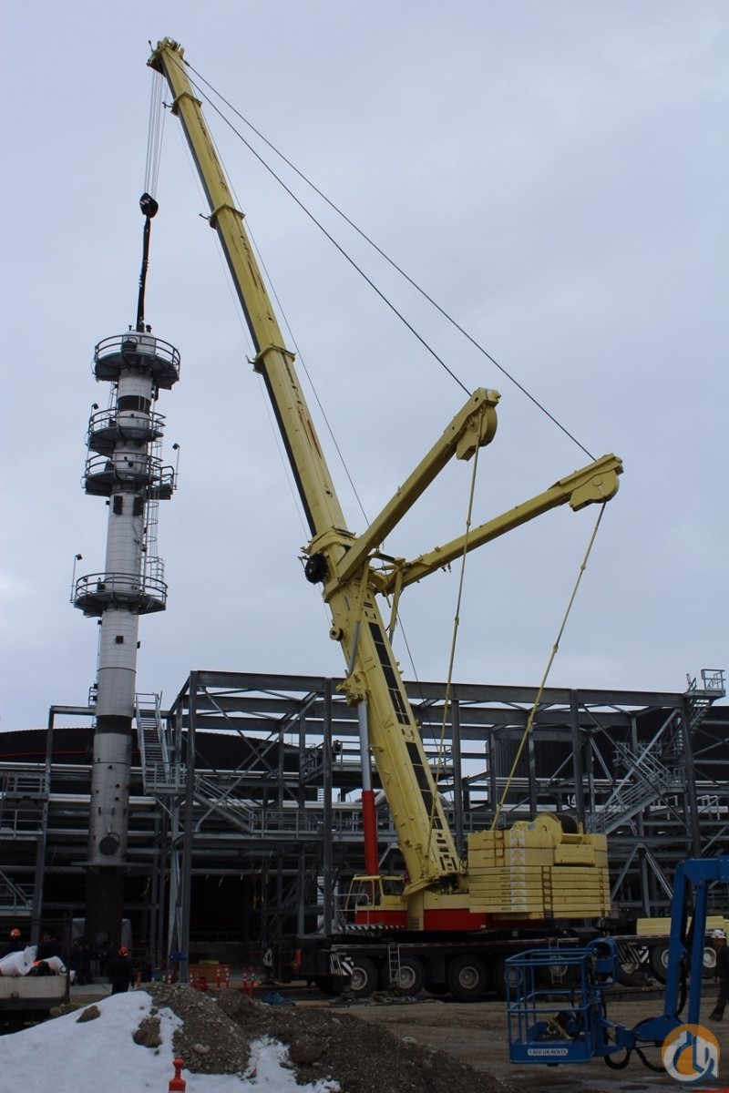 2012 LIEBHERR LTM 1500 81 Crane for Sale on CraneNetworkcom