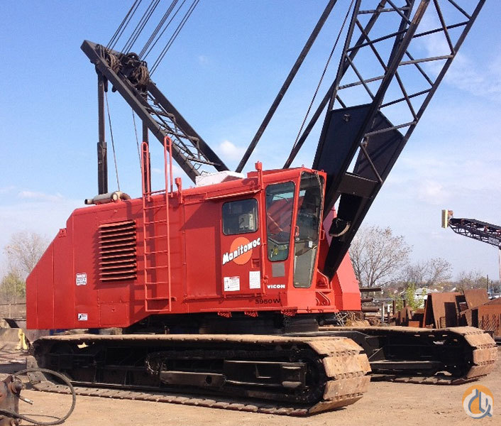 Sold 1994 Manitowoc 3950W Crane for  in Elgin Illinois on CraneNetwork.com