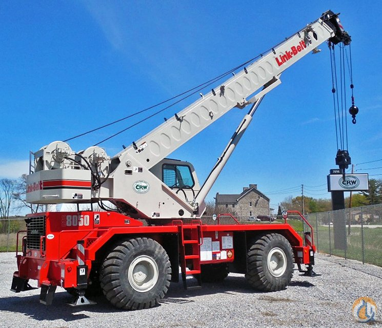 Link-Belt RTC-8050 SII Rough Terrain Cranes Crane for Sale 2014 Link-Belt RTC-8050 SII in Central Square  New York  United States 178949 CraneNetwork