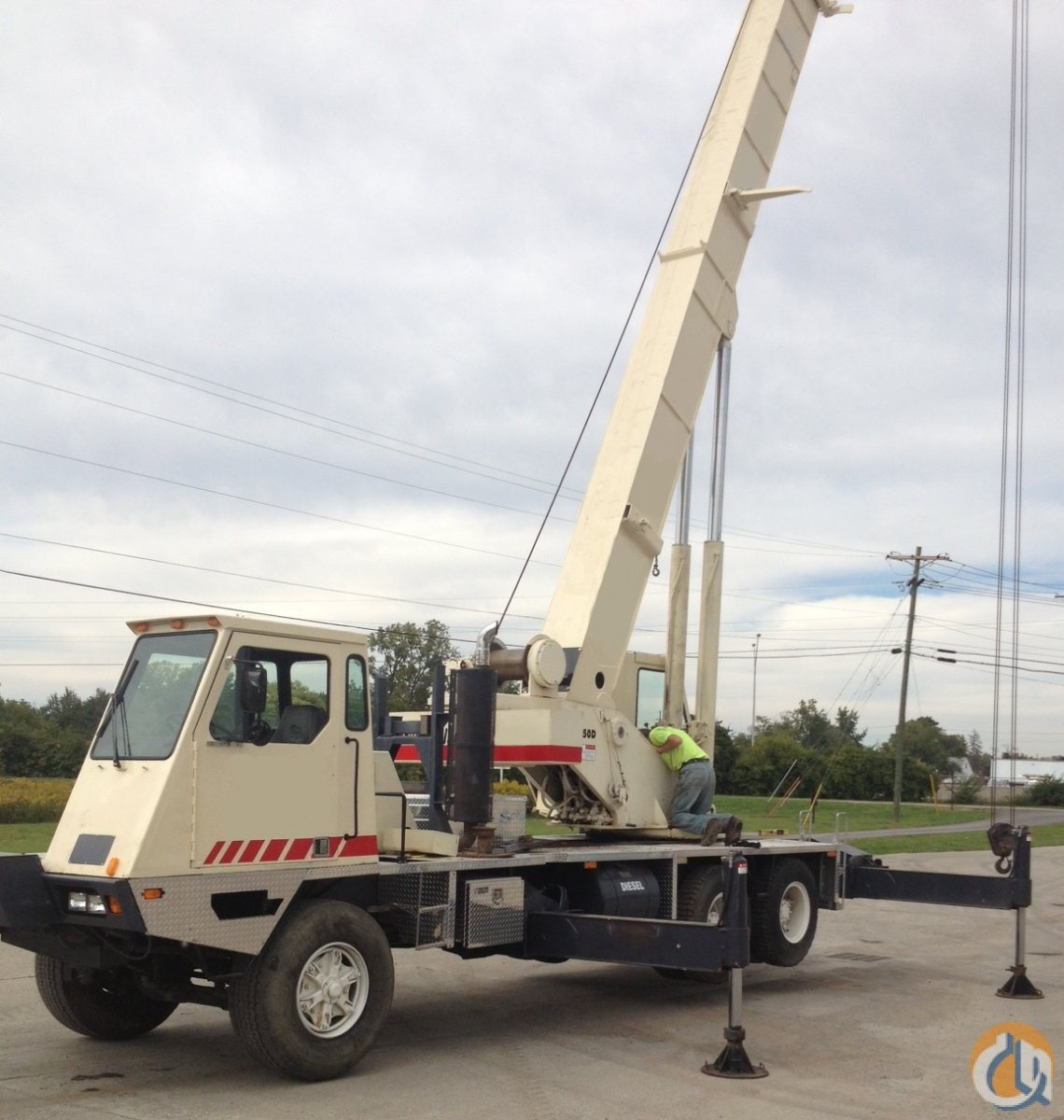 Lorain MCH350D Crane for Sale or Rent in Columbus Ohio on CraneNetwork.com