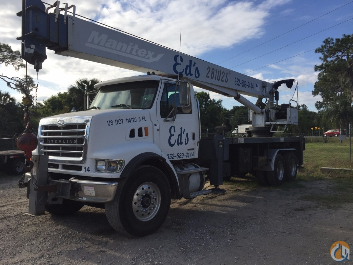 2004 Manitex 28102 S Crane for Sale in Eustis Florida on CraneNetwork.com