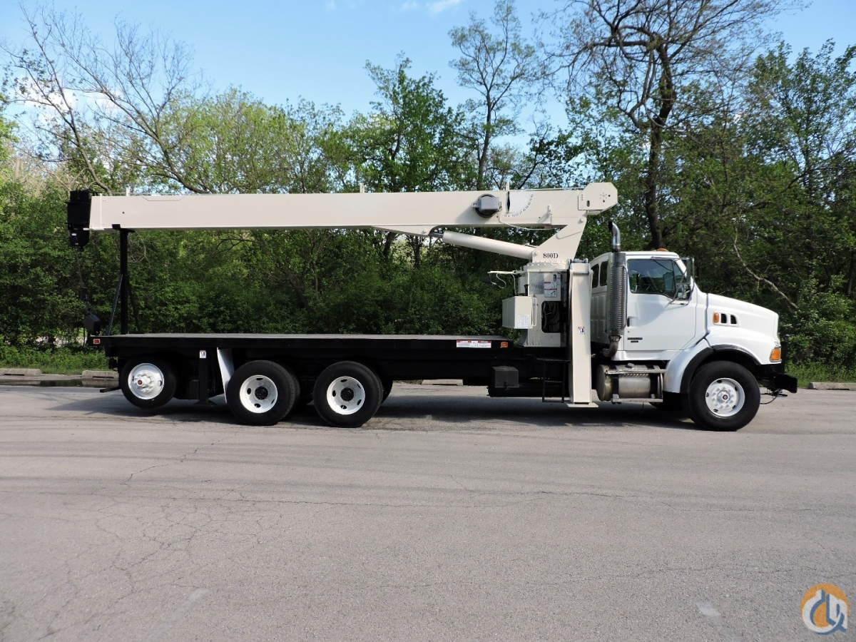 2005 NATIONAL 8100D Cent-Rock Crane for Sale in Lyons Illinois on CraneNetworkcom