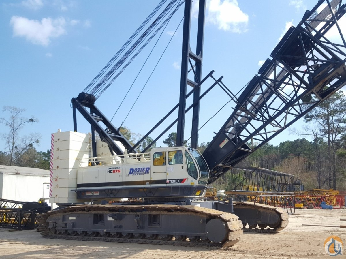 2014 TEREX HC-275 Crane for Sale or Rent in Savannah Georgia on CraneNetworkcom