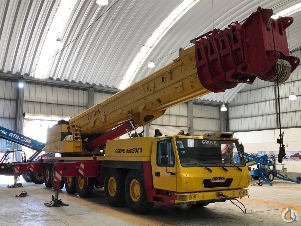 2010 GROVE GMK6350 Crane for Sale in Houston Texas on CraneNetwork.com