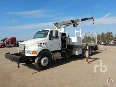2003 STERLING ACTERRA Crane for Sale in Lake Worth Texas on CraneNetwork.com