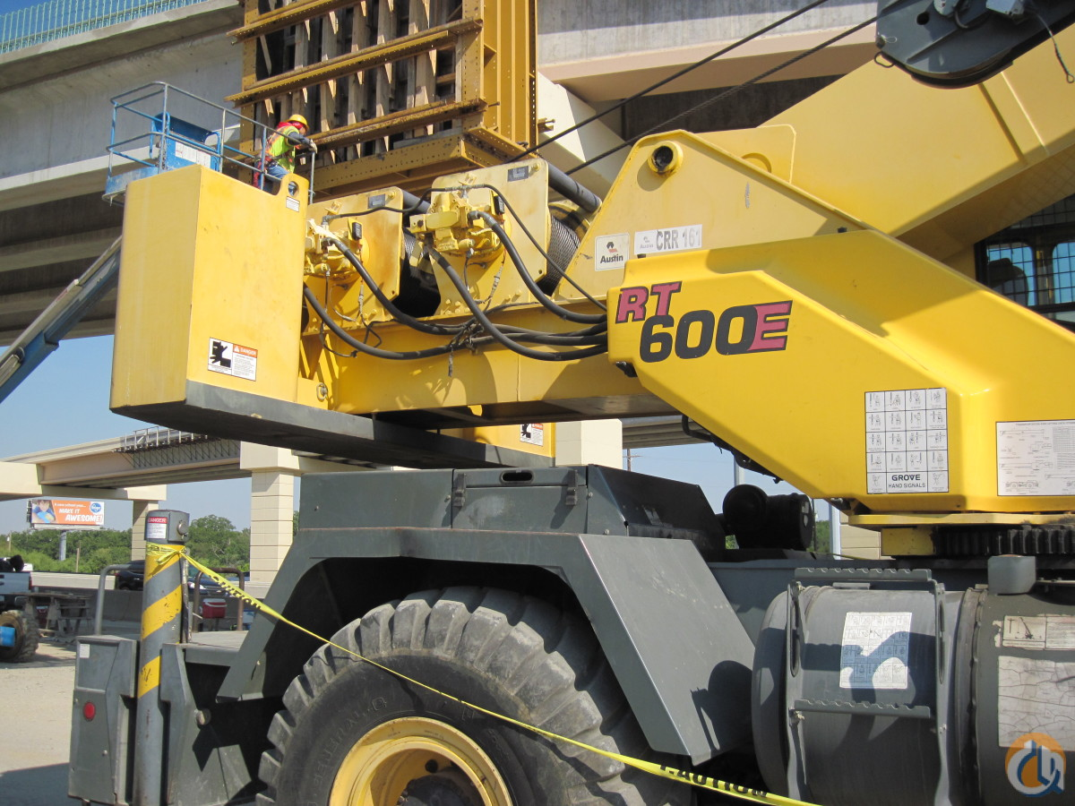 Grove RT600E Hydraulic Rough Terrain Crane Crane for Sale on CraneNetwork.com