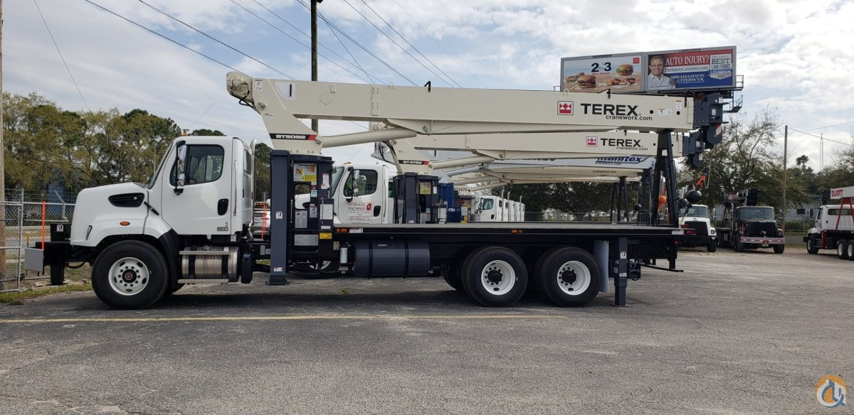 New Terex BT5092 sn 241355 on a Freightliner 108SD Crane for Sale or Rent in Tampa Florida on CraneNetwork.com