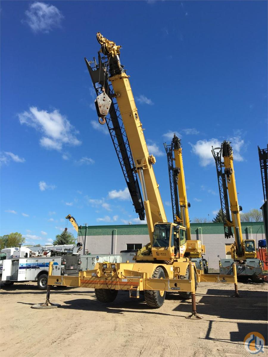 1997 GROVE RT635C Crane for Sale in Bloomington Minnesota on CraneNetwork.com
