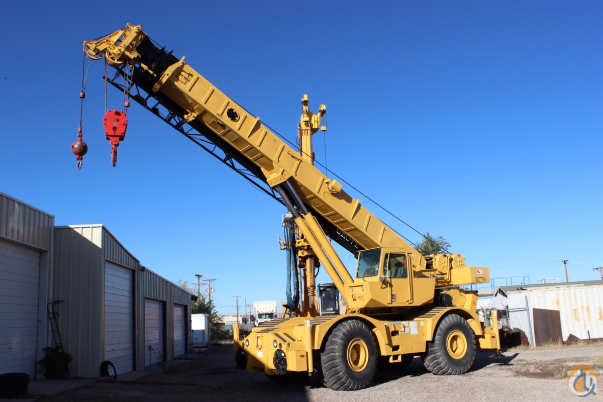 1998 Grove RT750 Crane for Sale in Albuquerque New Mexico on CraneNetwork.com
