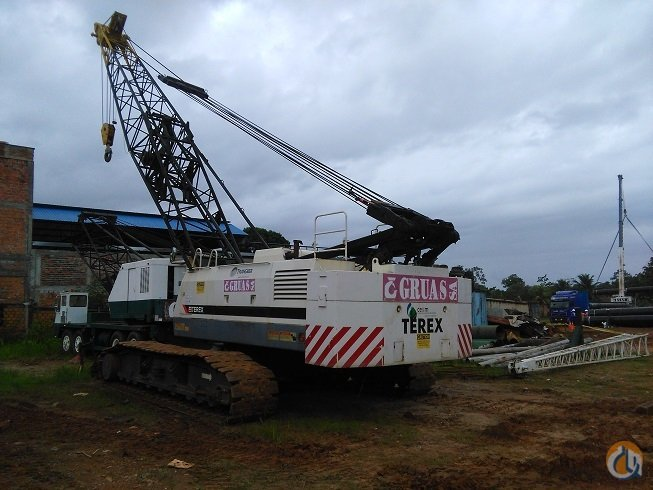Terex-American HC110 Crawler Lattice Boom Cranes Crane for Sale 2008 TEREX-AMERICAN HC110 in Lima District  Lima Region  Peru 218508 CraneNetwork