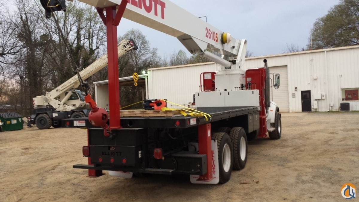 Elliott 26105 Boom Truck - ML Cranes  Equipment Crane for Sale or Rent in Charlotte North Carolina on CraneNetworkcom