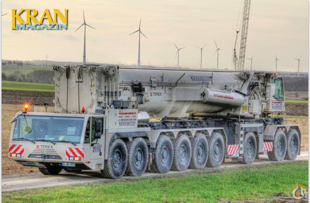 Sold Terex Ac 1000 Crane For In Potomac Maryland On