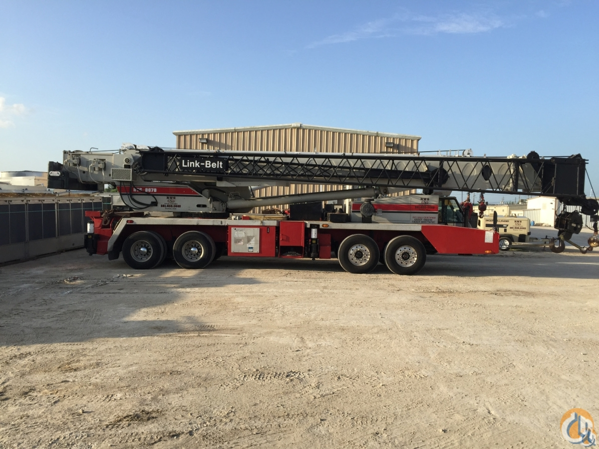 Sold 2000 Linkbelt HTC 8670LB Crane for  in Baytown Texas on CraneNetwork.com