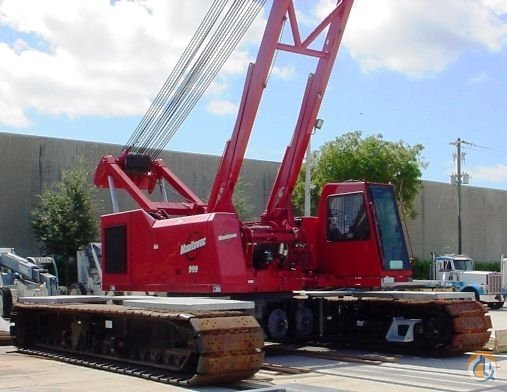 2009 MANITOWOC 999 T3 Crane for Sale in St. Augustine Florida on CraneNetwork.com