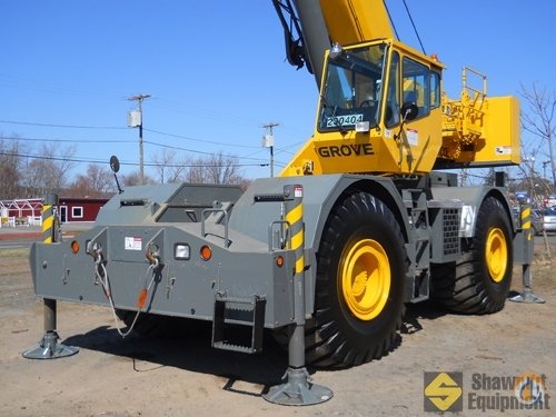 2009 Grove RT760E Crane for Sale in Easton Massachusetts on CraneNetworkcom