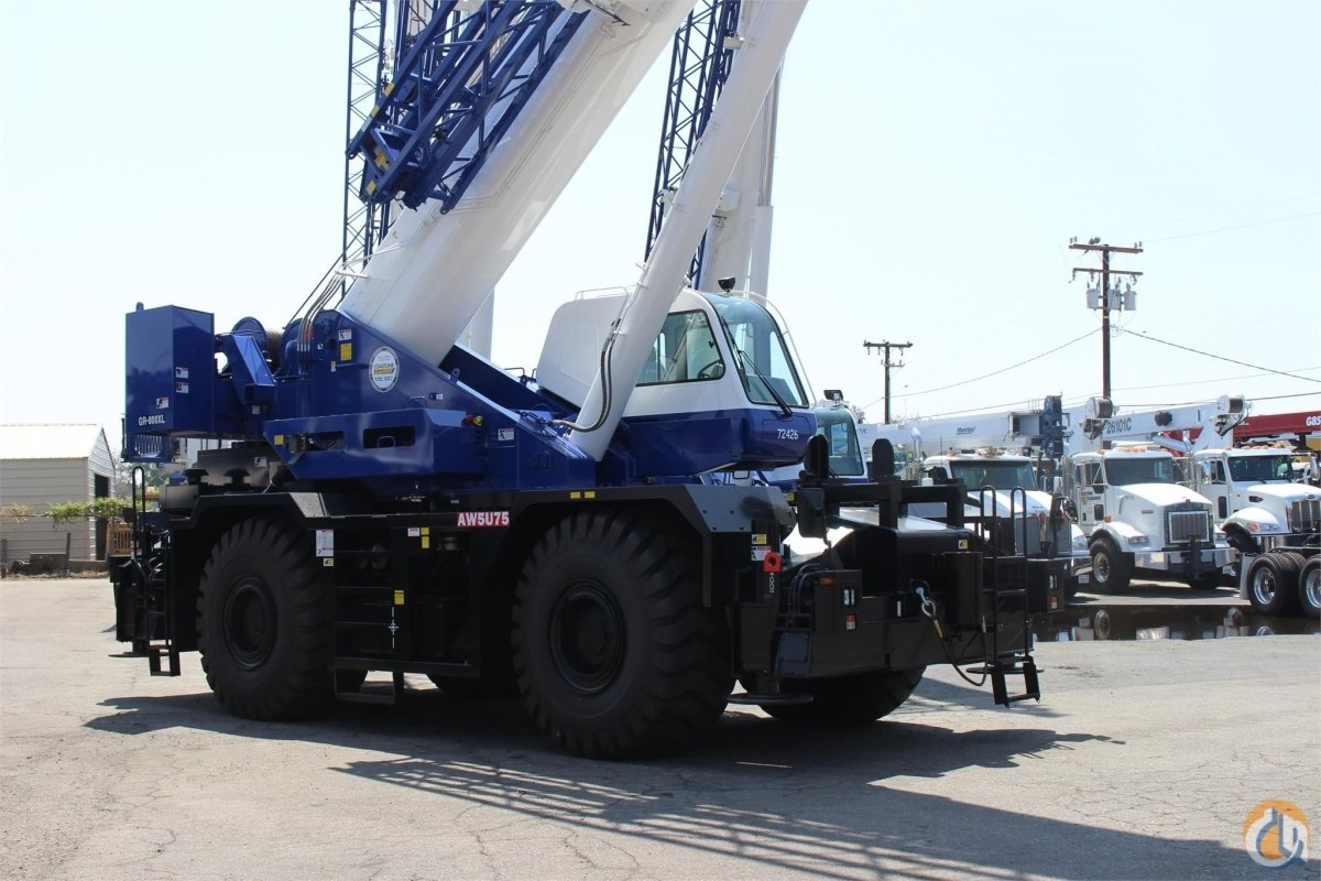 2017 TADANO GR800XL-1 Crane for Sale in Santa Ana California on CraneNetwork.com