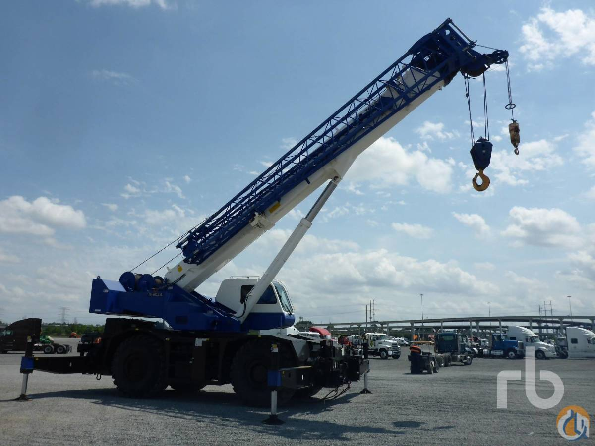 Sold TADANO GR800X 80 Ton 4x4x4 Rough Terrain Crane Crane for  in Houston Texas on CraneNetworkcom