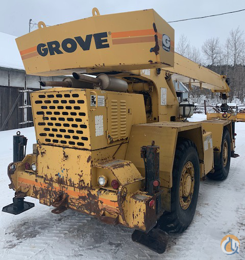 1979 Grove RT522 22 Ton Rough Terrain Crane CranesList ID 385 Crane for Sale on CraneNetwork.com