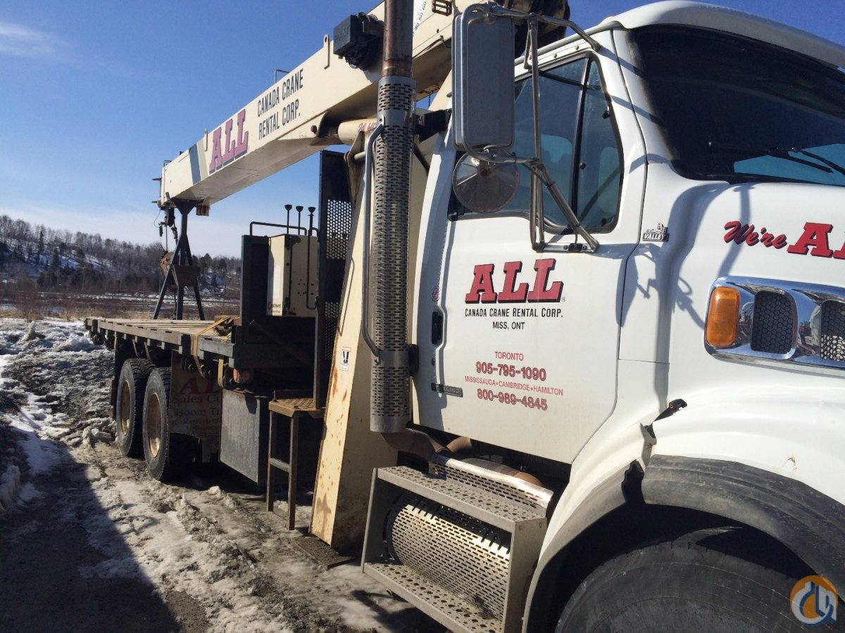 2008 National 8100D Crane for Sale in Mississauga Ontario on CraneNetwork.com