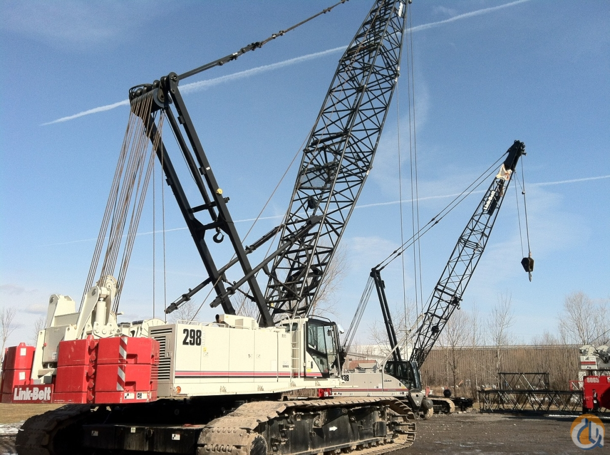 2008 Link-Belt 298HSL 250-Ton Capacity Crane for Sale in Oxford Massachusetts on CraneNetwork.com