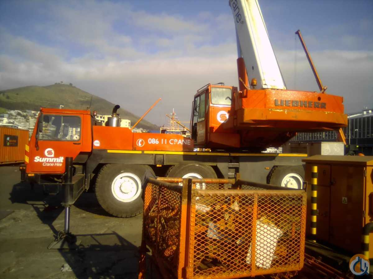 2001 Liebherr LTM1040 Crane for Sale in Cape Town Western Cape on CraneNetwork.com