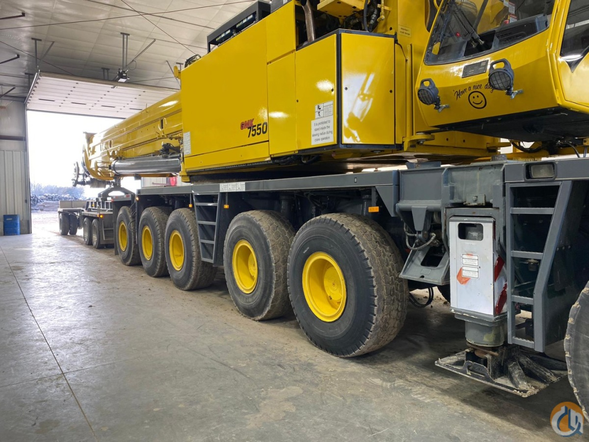 GROVE GMK7550 LOW HOURS LOW MILES FULLY OPTIONED PRICED TO SELL Crane for Sale on CraneNetwork.com
