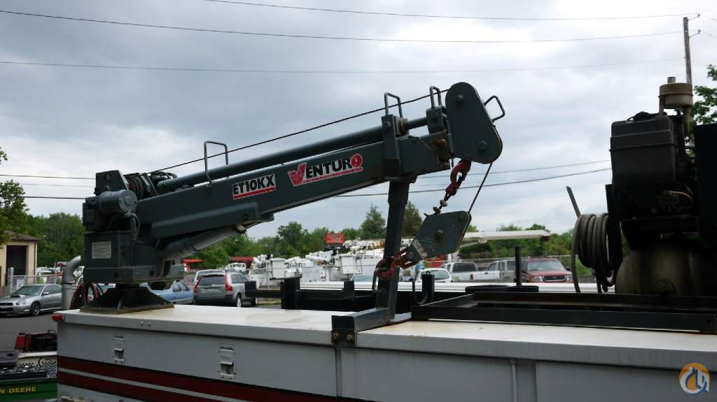 2003 VENTURO ET10KX 8605 Crane for Sale in Hatfield Pennsylvania on CraneNetworkcom