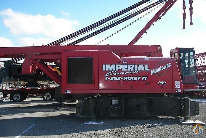 2009 MANITOWOC 999 III Crane for Sale in Bridgeview Illinois on CraneNetworkcom