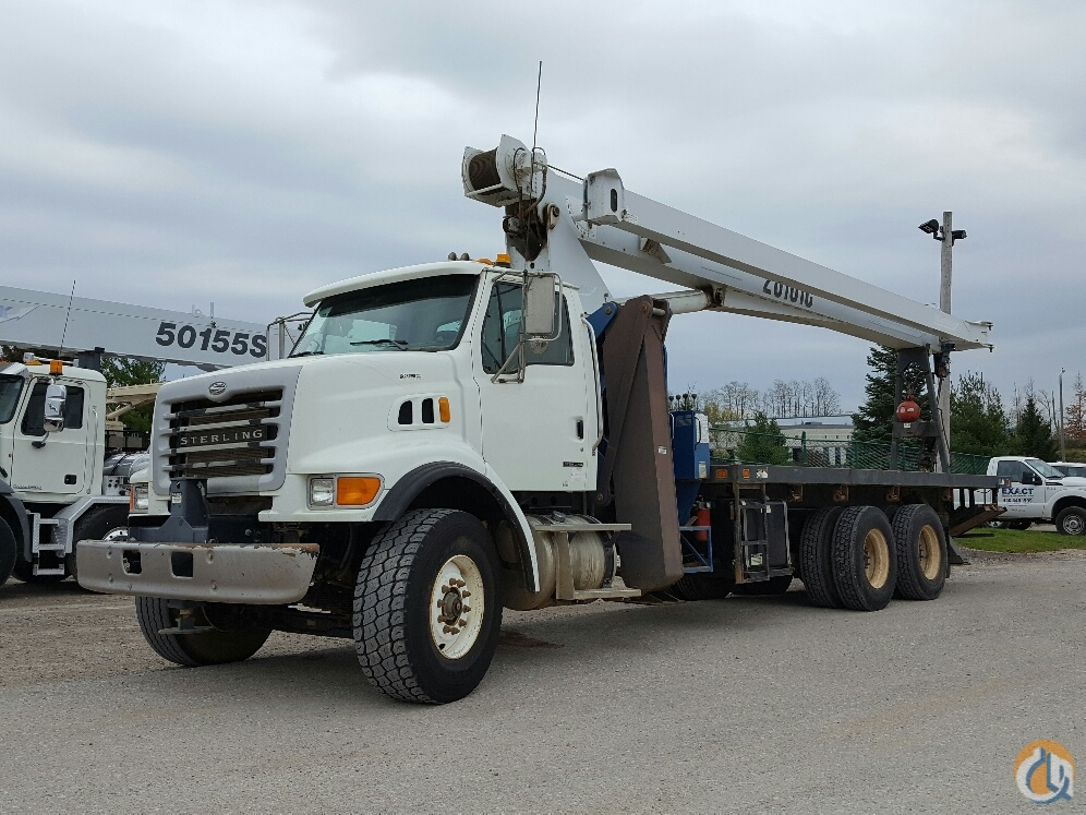 Sold 2007 Manitex 26101C Crane for  in Cleveland Ohio on CraneNetwork.com