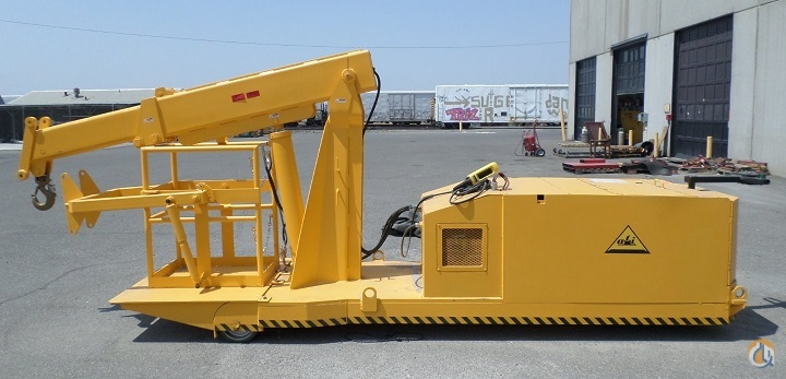 Sold Heavy Duty Reversible Boom Crane Crane for  in Richland Washington on CraneNetworkcom