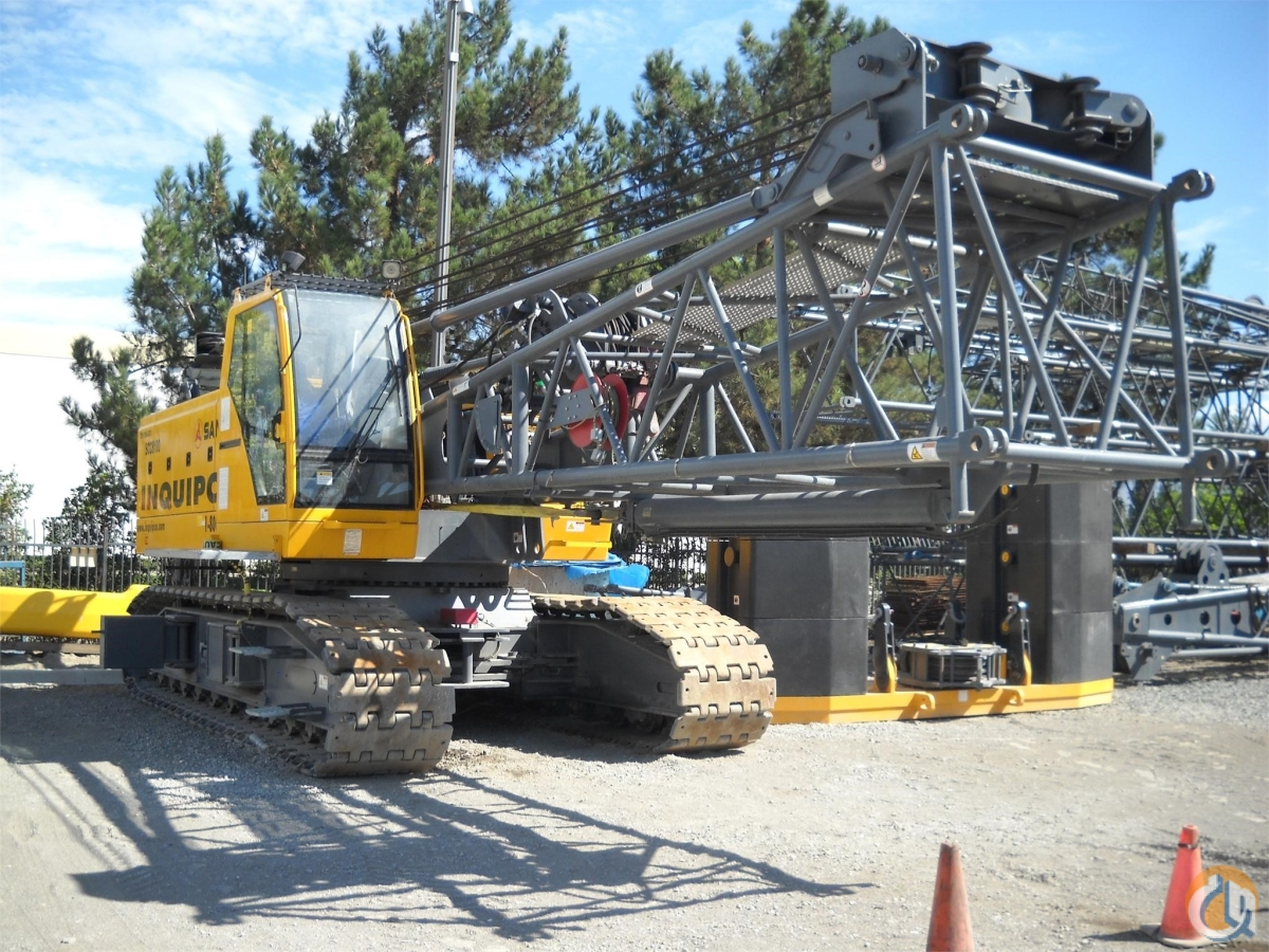 2012 SANY SCC8100 Crane for Sale or Rent in Las Vegas Nevada on CraneNetwork.com