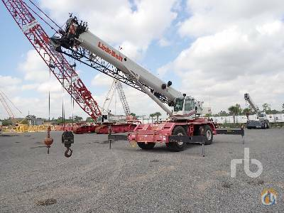 2014 LINK-BELT RTC8065 65 Ton 4x4x4 Rough Terrain Crane Crane for Sale in Houston Texas on CraneNetwork.com