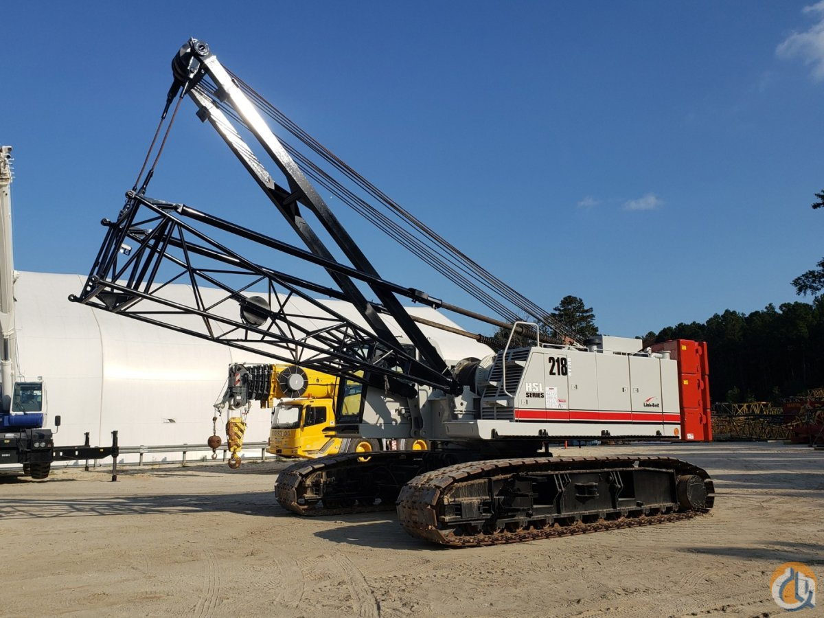 2012 LINK-BELT 218HSL Crane for Sale or Rent in Savannah Georgia on CraneNetwork.com