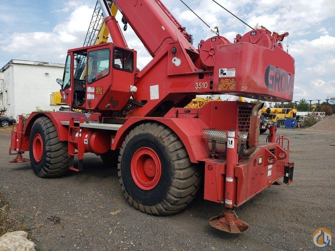 2001 Grove RT760E Crane for Sale in Branchburg New Jersey on CraneNetwork.com