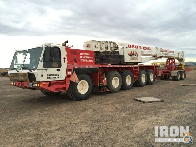 Sold 1996 Grove GMK5110 All Terrain Crane Crane for  in Cheyenne Wyoming on CraneNetworkcom