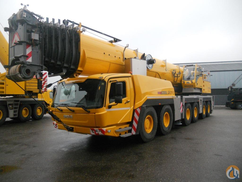 Sold 2012 Grove GMK6350L Crane for  on CraneNetwork.com