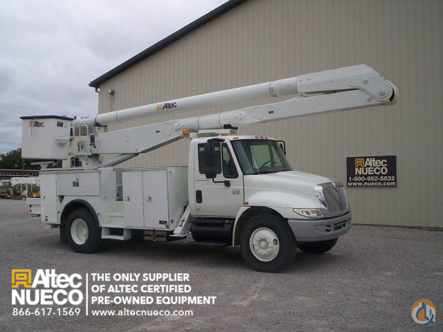 2008 ALTEC AA755-MH Crane for Sale in Fort Wayne Indiana on CraneNetworkcom