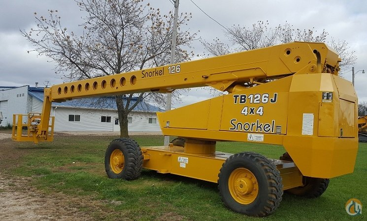 Snorkel Lift 126 foot Crane for Sale in Hennepin Illinois on CraneNetwork.com