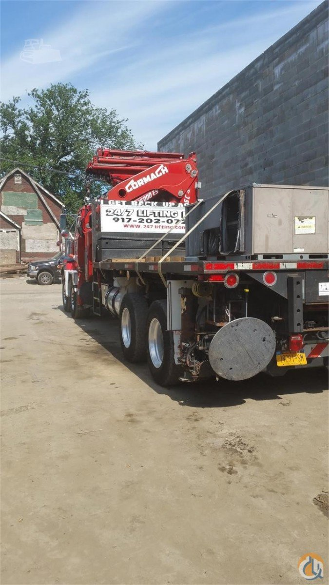 2009 CORMACH 125000E9F186 Crane for Sale in Yonkers New York on CraneNetwork.com