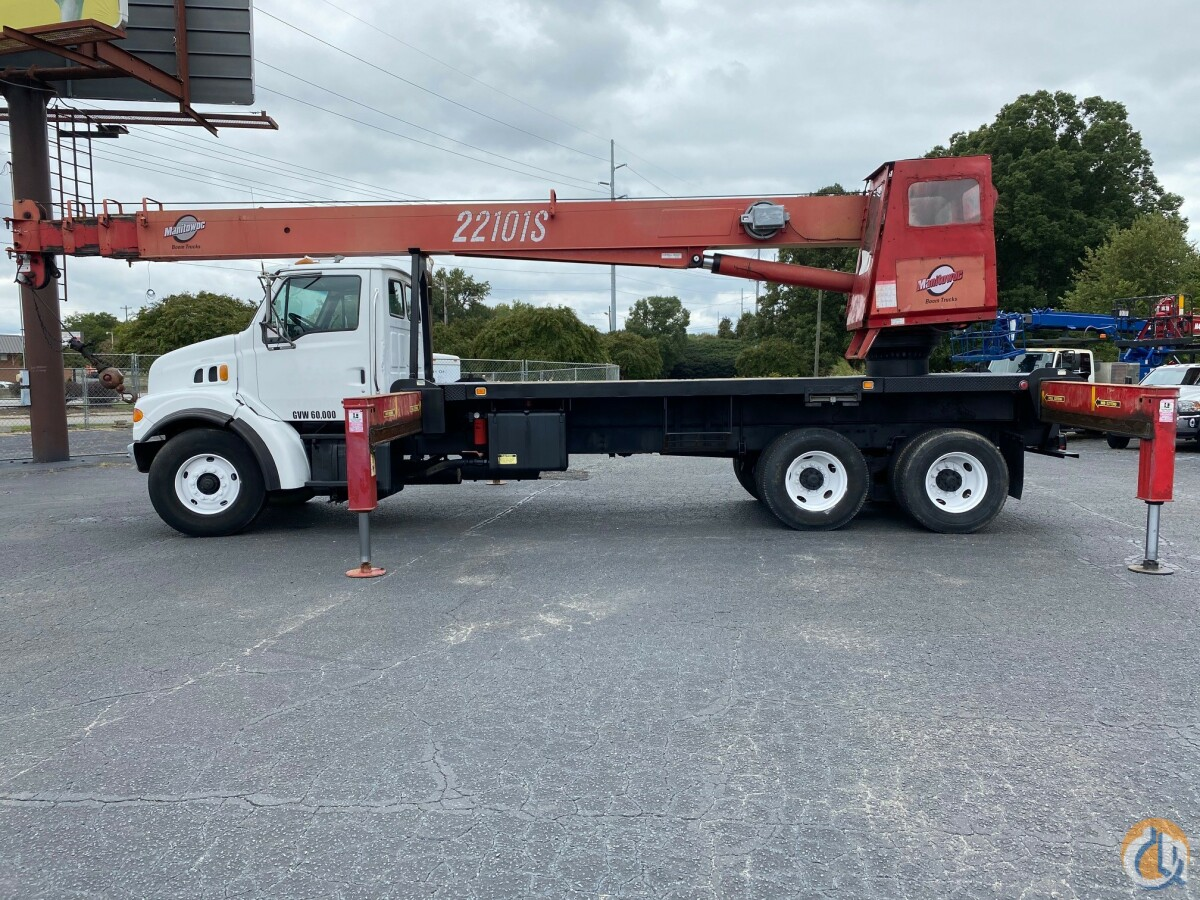 2001 Manitex 22101 Mounted on a Sterling Crane for Sale on CraneNetwork.com