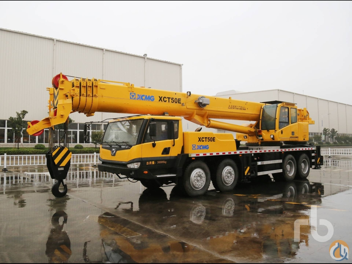 Sold UNUSED 2013 XCMG XCT50E Hydraulic Truck Crane Crane for  in Dubai Dubai on CraneNetworkcom