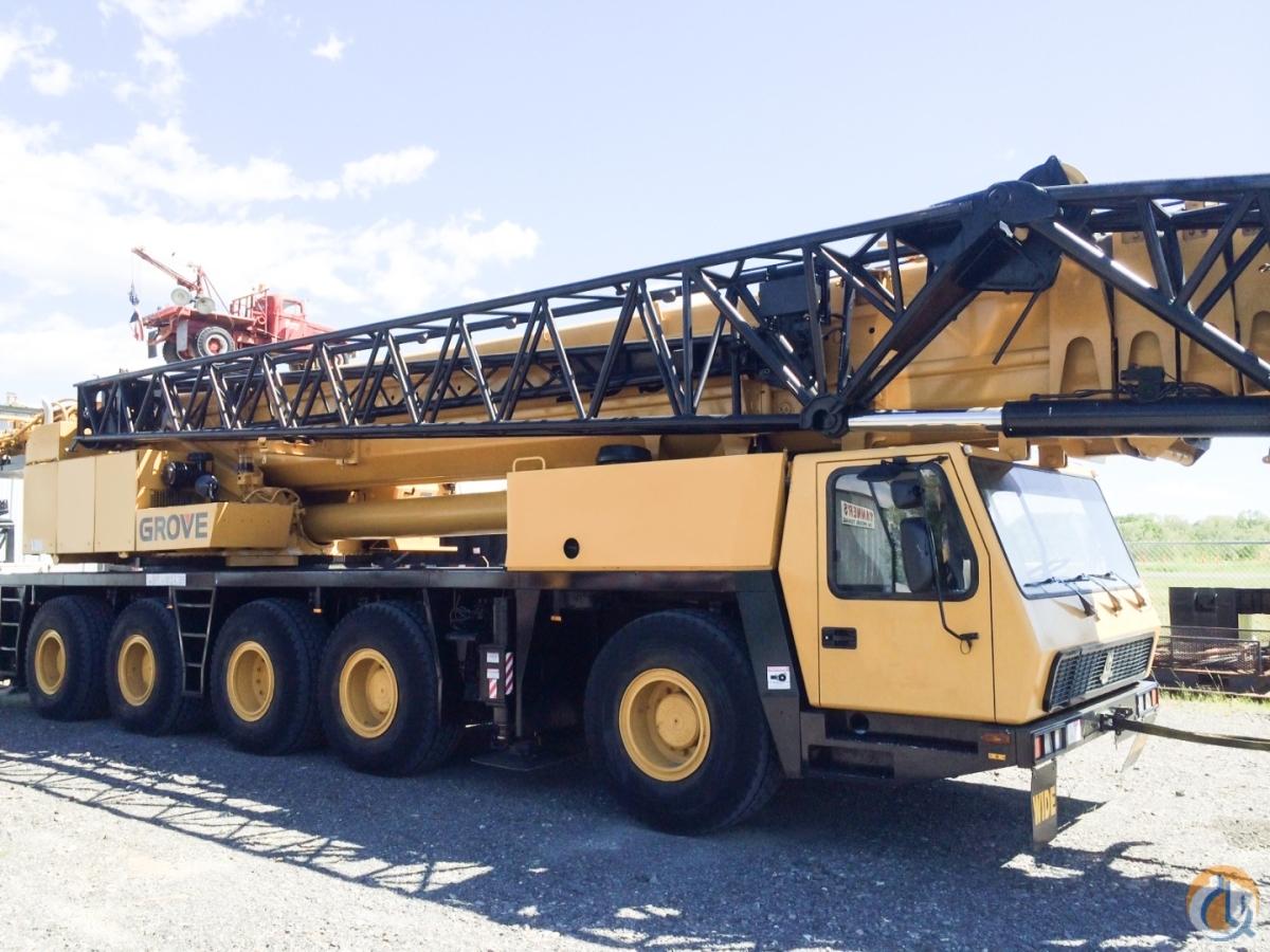 2000 Grove GMK5210, 210 Ton, All Terrain Crane