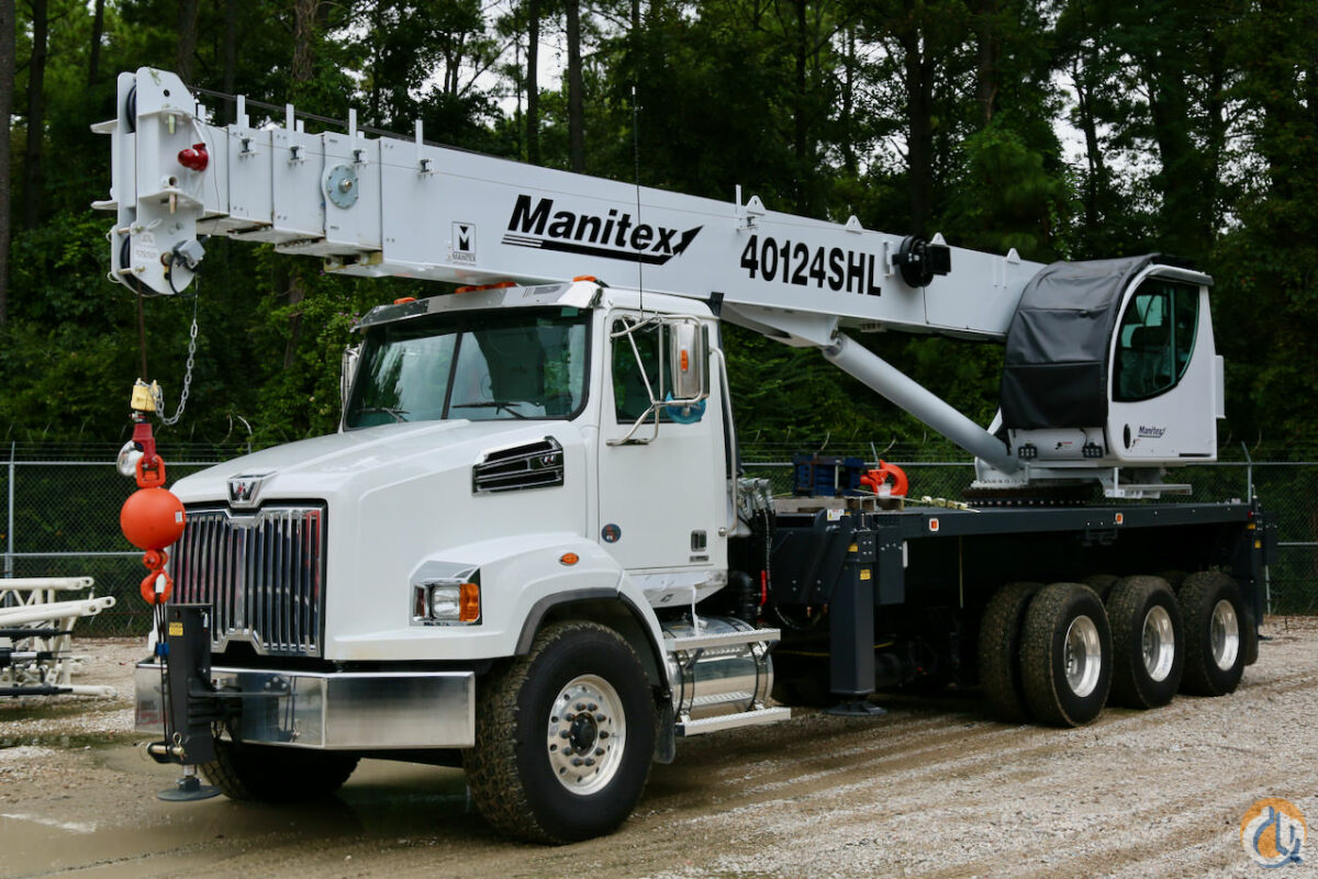 Used Manitex 40124SHL boom truck on 2019 Western Star 4700SB chassis for sale or rent Crane for Sale or Rent in Houston Texas on CraneNetwork.com