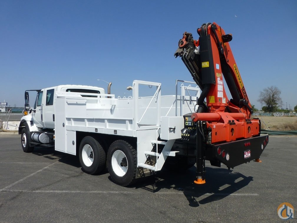 2008 International 7500 Palfinger PK15002 65 Ton Knuckle Boom Crane for Sale in Norwalk California on CraneNetworkcom