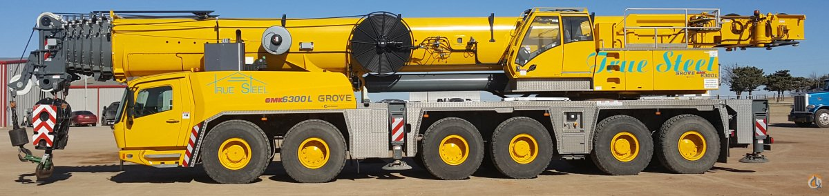 Sold 2015 Grove GMK6300L Crane for  in Pontotoc Oklahoma on CraneNetwork.com